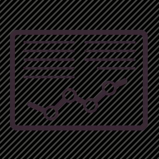 analytics, chart, data, diagram, infographic, statistics, trade icon