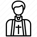 avatar, christian, cultures, pastor, priest, profession, religious icon