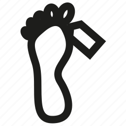 dead, death, feet, foot, funeral, label, man icon