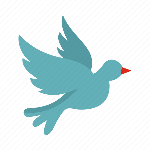 Bird, dove, freedom, hope, love, peace, religion icon - Download on Iconfinder