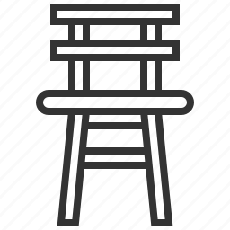 chair, child, furniture, seat icon
