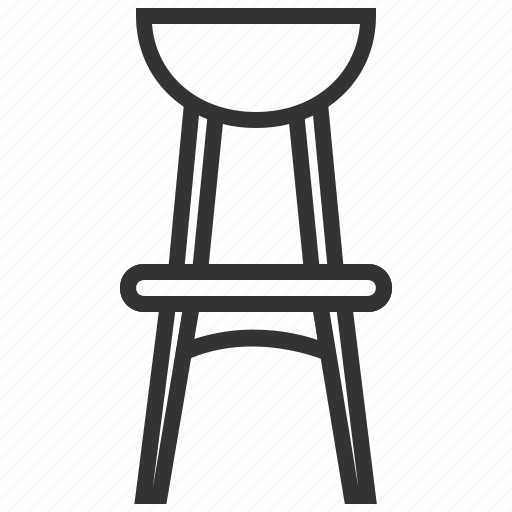 chair, child, children, furniture icon