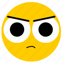 angry, angry eyes, emojiangry02, mad icon