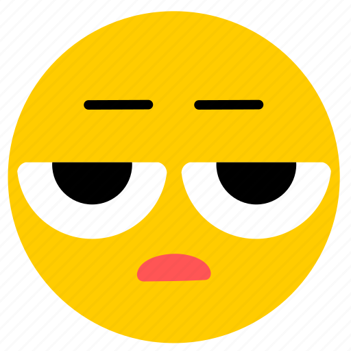 doubt, emojiesceptico02, skeptical, tired icon