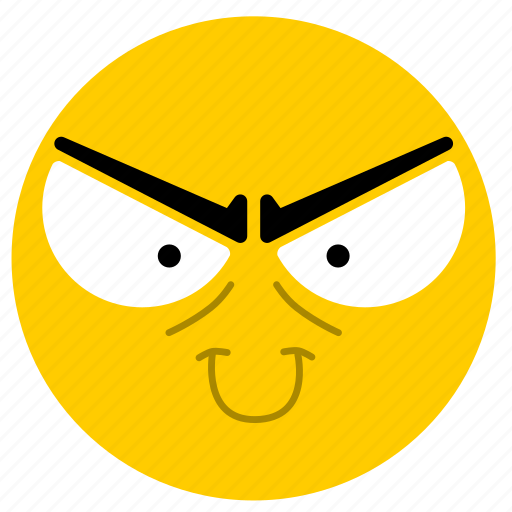 bad, emojievil02, evil icon