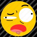 crazy, emojifrozenbrain02, frozen, frozen brain, loading icon