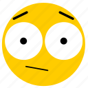 emojisurprised02, neutral, shock, shocked, surprise, surprised icon
