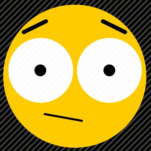 emojisurprised02, neutral, shock, shocked, surprise, surprised icon