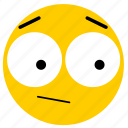 emojisurprised04, neutral, shock, shocked, surprised icon