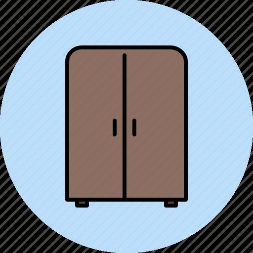 bedroom, closet, doors, wooden icon