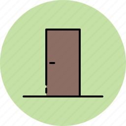 closet, door, entry, furniture, wooden icon