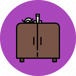 doors, furniture, kitchen, sink icon