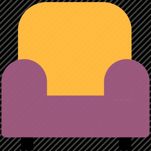 armchair, chair, furniture, sofa icon