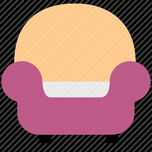 armchair, belongings, chair, furniture, sofa icon