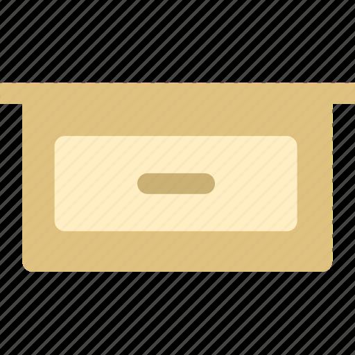 cabinet, drawer, drawers, furniture icon