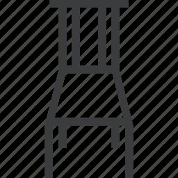 chair, furniture, seat, sit icon