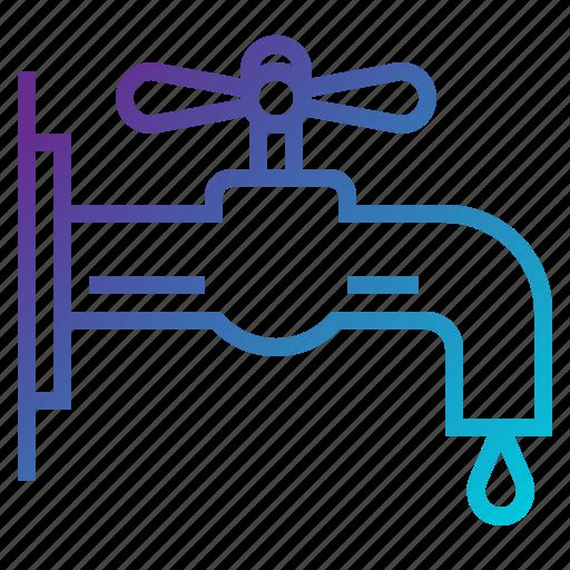 bio, eco, ecology, faucet icon