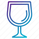 drink, empty, glass icon