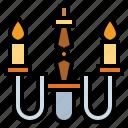 chandelier, illumination, lamp, light icon