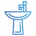 sink, wash, washing, water icon