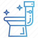 flush, sanitary, toilet, wc icon
