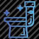 flush, sanitary, toilet, wc