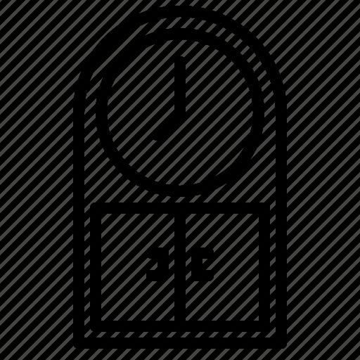 Clock, furniture, household, livingroom icon - Download on Iconfinder