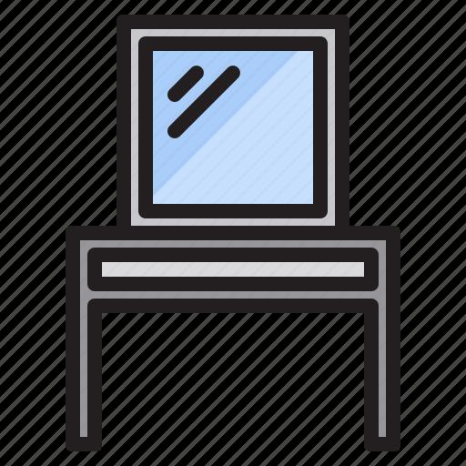 Furniture, household, livingroom, mirror icon - Download on Iconfinder