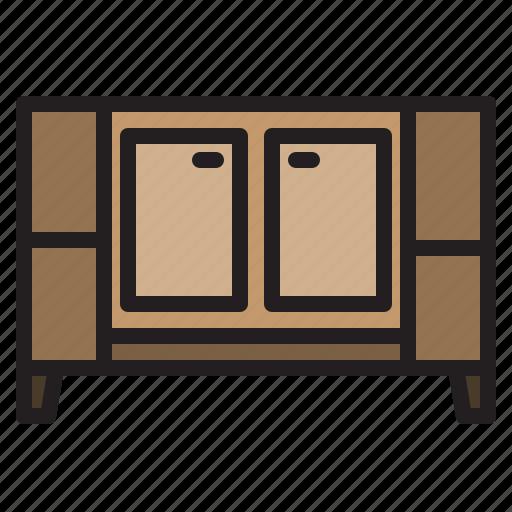 furniture, household, livingroom, nighstand icon