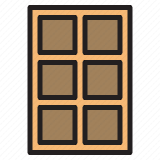 Shelf, household, livingroom, furniture icon