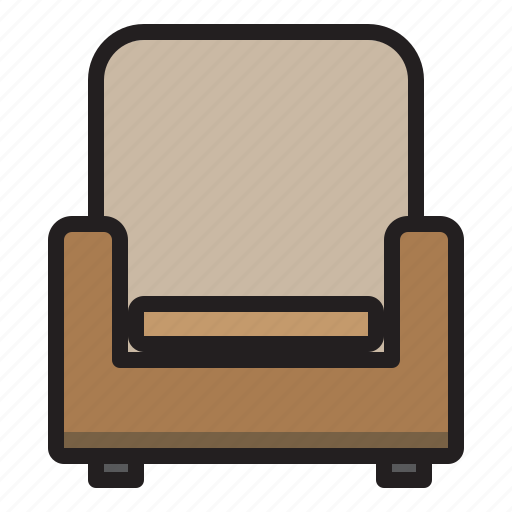 Sofa, household, livingroom, furniture icon