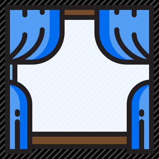 Furniture, household, livingroom, windows icon - Download on Iconfinder