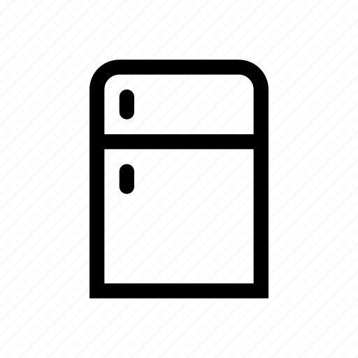 fridge, furniture, referigerator icon