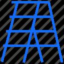 furniture, interior, ladder, stepladder, climb, construction
