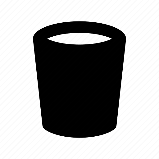 Trash Bin Can Waste Container Icon