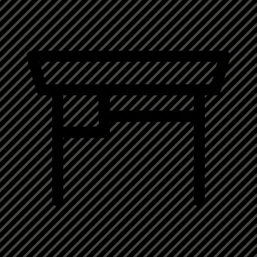 decoration, desk, furniture, table icon