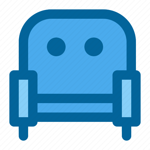 chair, furniture, house, meeting room, sofa icon