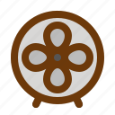 fan, furniture, house, room icon