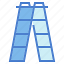 ladder, ladders, tool icon