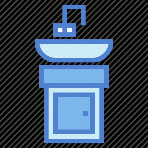 bathroom, furniture, stand, wash, washstand icon