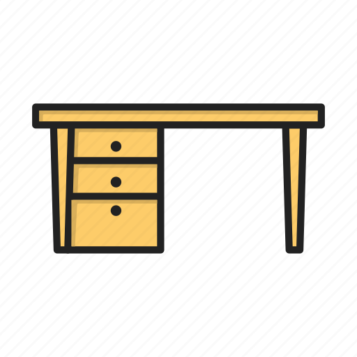 office, place, table, work icon