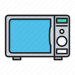 cooking, kitchen, microwave, oven icon