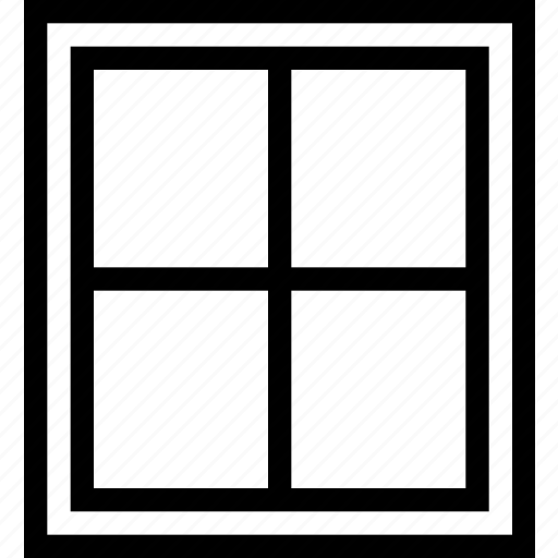 Window, window frame icon - Download on Iconfinder