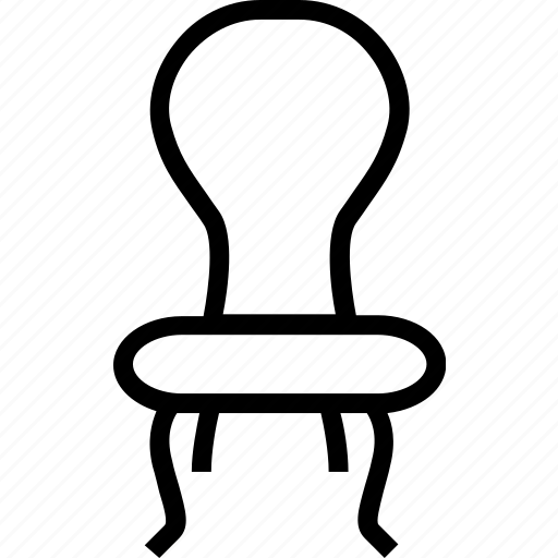 chair, fittings, furniture, house, vintage icon