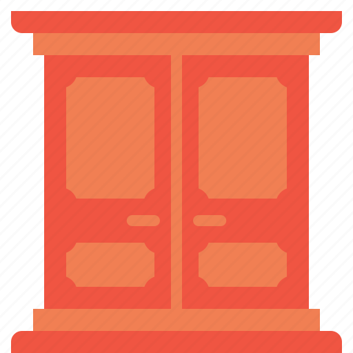 cabat, cabinet, clothes, furnishing, furniture, household, wardrobe icon