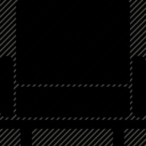 arm, chair icon