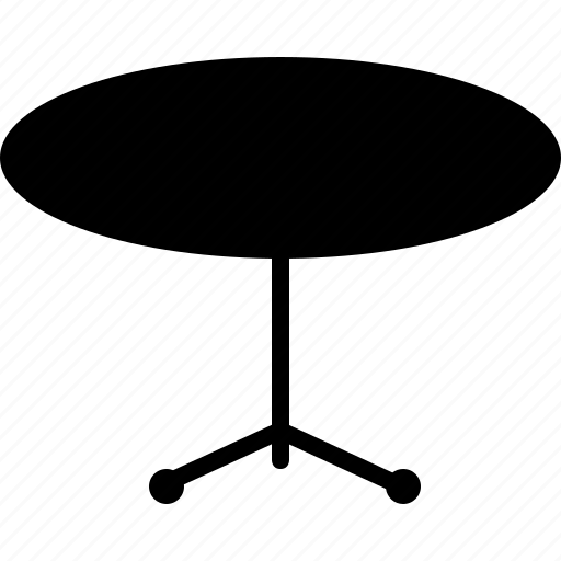 oval, table icon