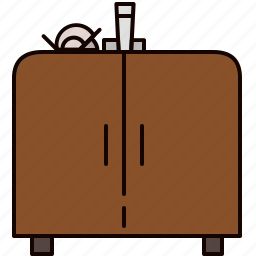 cabinet, doors, furniture, kitchen, sink icon