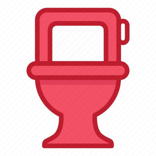 chair, furniture, household, interior, seat, stuff, toilet icon