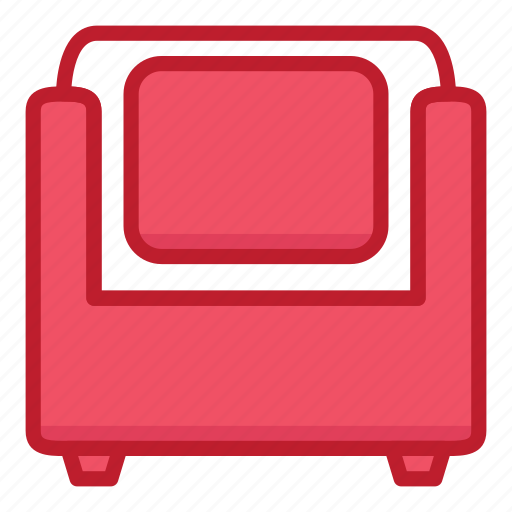 chair, furniture, household, interior, seat, sofa, stuff icon